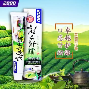 韩国原装进口 2080青龈茶牙膏90g