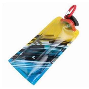 红色营地 户外运动折叠水袋便携防漏折叠水壶饮水袋700ml slh909445
