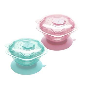 凯德氏星星吸盘碗婴儿辅食碗宝宝餐具防摔吸盘碗单个包邮
