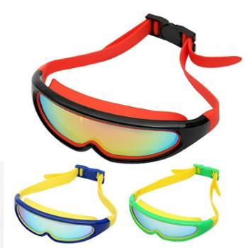 成人儿童亲子泳镜防水防雾高清大框游泳眼镜男女潜水镜游泳装备