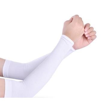 夏季防紫外线冰袖防晒冰袖男女冰丝防晒手套薄款袖子开车手臂套袖