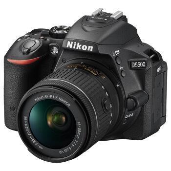 尼康(Nikon)D5500单反套机(AF-PDX尼克尔18-55mmf/3.5-5.6GVR)黑色