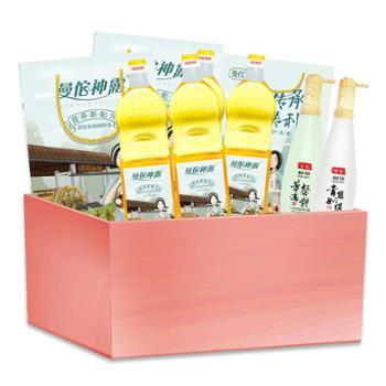 【一建钟情感恩园丁】曼佗茶油健康生活套装 大礼包