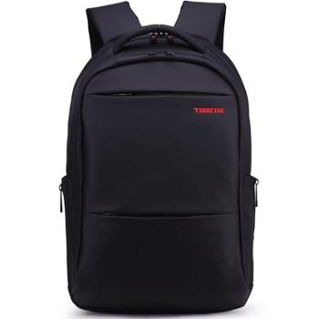 泰格奴 双肩包男 男士背包女韩版潮中学生书包休闲商务电脑包旅行