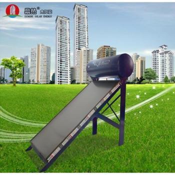 鼎热太阳能热水器平板一体机80L正品包邮特价爆款豪华热卖