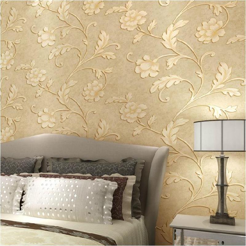 壁纸 环保无纺布 卧室客厅背景墙纸韩式小清新壁纸