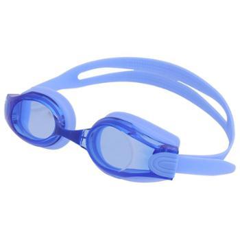 得力泳镜男女游泳眼镜高清防雾大框成人儿童防水潜水装备F6120