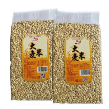 肴之缘大麦米500克*2袋 五谷杂粮粗粮十谷养身粥之一 大部分地区包邮