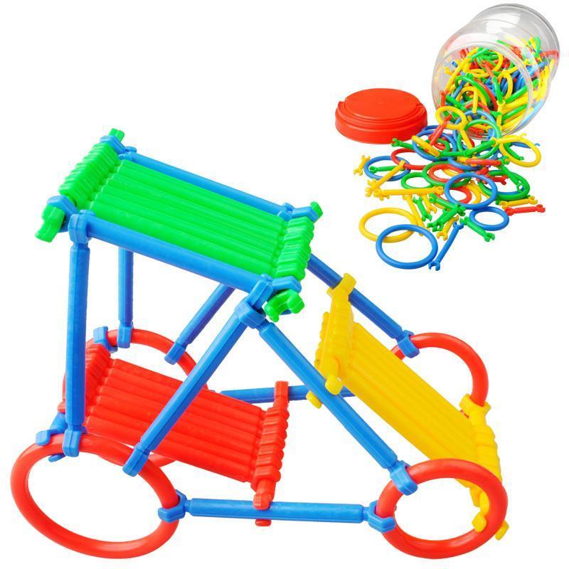 积木玩具聪明棒小孩大全插管图片拼装宝宝3-4芭比娃娃智力潜力图片