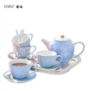 蔻达CODA 北欧印象13件套茶具 咖啡具