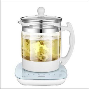 尊卓加厚玻璃分体养生壶电热水壶花茶壶礼品多功能茶壶M8090F