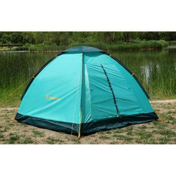 探路者TOREAD户外装备 3-4人野外露营休闲公园沙滩帐篷防风雨TEDD80633
