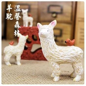 Roogo/如果 可爱温馨森林树脂小动物日本zakka风格杂货家居创意摆件拍摄道具
