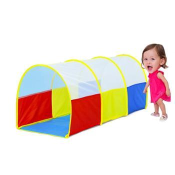 澳乐儿童隧道爬筒玩具婴儿爬行隧道帐篷宝宝游戏空间隧道爬筒