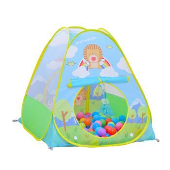 澳乐儿童动物天地小帐篷宝宝游戏屋婴儿海洋球池可折叠帐篷