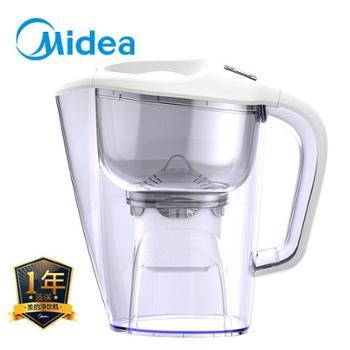 美的净水壶滤水壶家用净水器厨房自来水非直饮过滤机器便携净水杯QC1651A