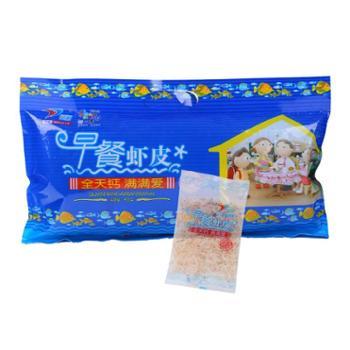 【景明】早餐虾皮特级无盐烤干淡干虾皮新鲜虾皮300g/袋