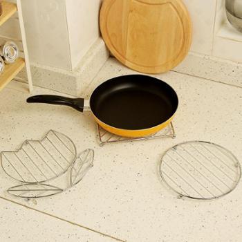 欧润哲3件套创意多功能金属电镀隔热垫家用锅盘垫桌垫餐垫