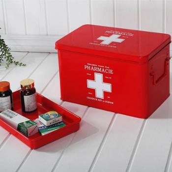 欧润哲家庭用大号应急药箱家用医药箱药品箱药盒收纳箱