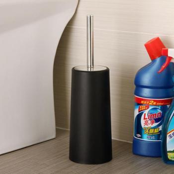 欧润哲不锈钢柄马桶刷架套装创意卫生间洗厕所刷子软毛洁厕刷头
