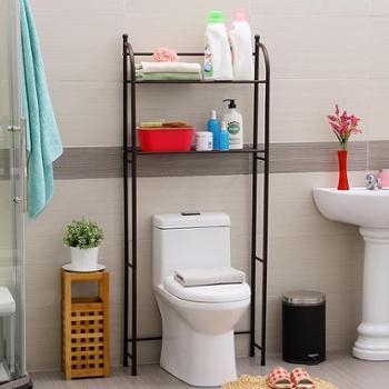 欧润哲 古铜色双层马桶架 创意时尚浴室洗衣机架