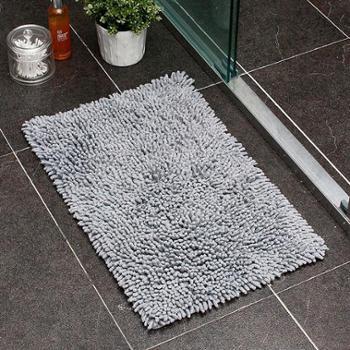欧润哲全棉雪尼尔加厚长绒方形地毯