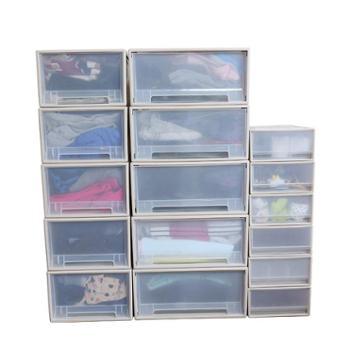 艾多 抽屉式可叠加收纳整理箱多种型号 1只装