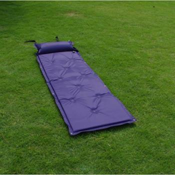 徽羚羊户外单人可拼接带枕自动充气垫野营午休睡垫用品