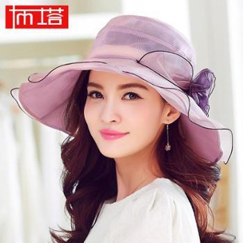 布塔新款防紫外线真太阳帽 韩版可折叠遮阳帽 防晒帽子PT0461