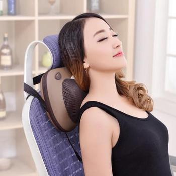 【正品包邮】 澳玛仕按摩枕 家用车载八头可调力度腰部肩颈部揉捏按摩器按摩靠垫