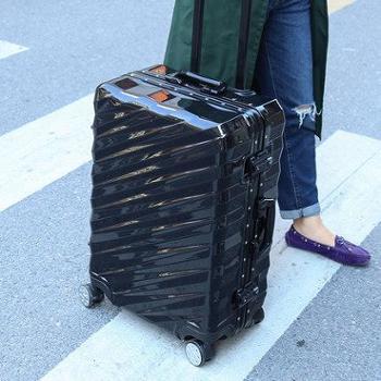 复古防刮铝框拉杆箱24寸男女行李箱26寸旅行箱密码箱