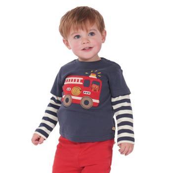 热销新款纯棉长袖童T恤 婴幼儿宝宝保暖打底衫