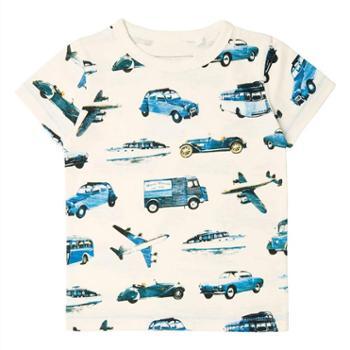 2018欧美童装T恤 男女童纯棉短袖T恤 中小童夏季新款儿童T恤