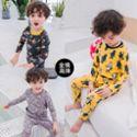 冬季儿童卡通内衣套装宝宝满印花保暖衣冬装男女童家居服