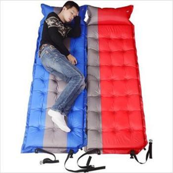 自动充气垫加厚5cm单人可拼接帐篷防潮垫野餐垫
