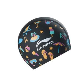 Lining/李宁 儿童泳帽861 PU 男女童中大童 游泳帽