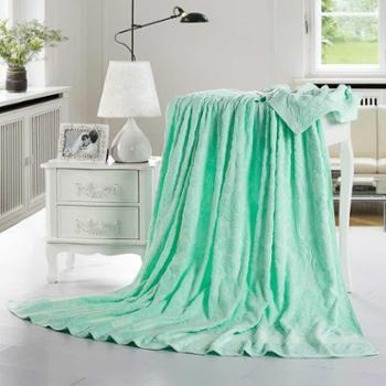 YUCEEN/羽芯家纺 纯棉毯单人双人清凉被沙发盖毯空调毯全棉毛巾被包邮 I-1