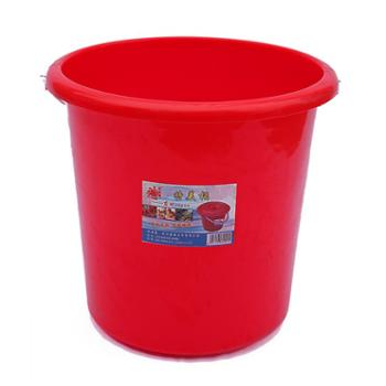 武汉东林塑料铁把拎水桶耐摔加厚储水桶清洁保洁3#型桶