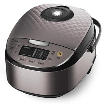 Midea/美的RS4057电饭煲4L升容量家用匠铜圆肚釜涡轮防溢智能预约