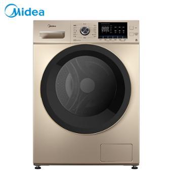 美的/Midea滚筒洗衣机MG100-1451WDY-G21G10公斤全自动变频不带烘干