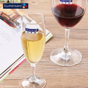 乐美雅优雅香槟杯高脚杯葡萄酒杯红酒杯170ml(6只装)E5974