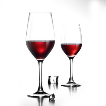 乐美雅冷切口盛世高脚杯红酒杯270ml (2只装)H4688