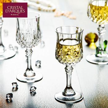 乐美雅法国进口CDA长胜无铅玻璃高脚杯红酒杯250ml(2只装)