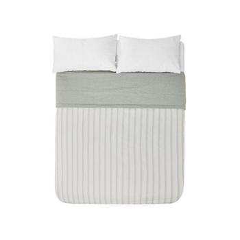 【苏宁极物】全棉色织清新绿薄被 200cm×230cm 清新绿