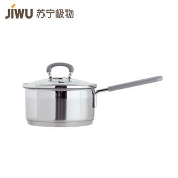 【苏宁极物】不锈钢防烫奶锅