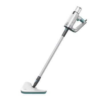 MKS美克斯蒸汽拖把家用高温清洁机拖地机手持擦地机除菌除螨多功能拖把 白蓝搭配