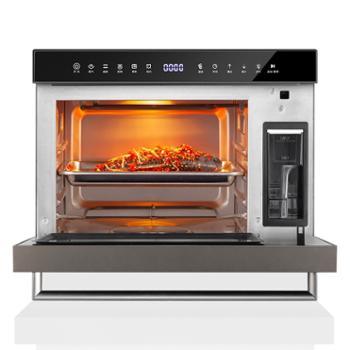 小熊(Bear)电烤箱家用28L大容量蒸汽烤箱多功能蒸烤箱一体机 专业烘焙DKX-A28C1黑色