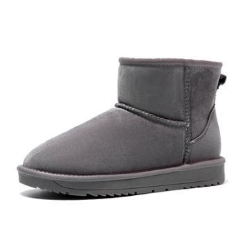 奥康加绒加厚雪地靴196026016
