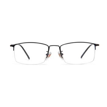 JimmyOrange眼镜架近视眼镜框BK黑色