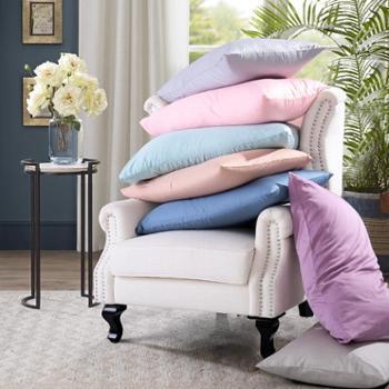 凯诗风尚Windsor60S素色全棉贡缎枕套一对装纯棉枕芯套48*74cm【善融六周年】